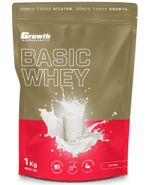 Suplemento Basic Whey Protein (1kg) - Growth Supplements