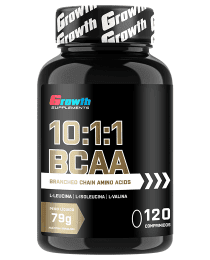Suplemento BCAA 10:1:1 - 120 COMPRIMIDOS  - Growth Supplements