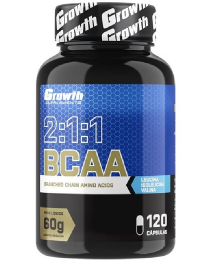 Suplemento BCAA (120 caps) - Growth Supplements