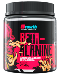 Suplemento BETA-ALANINA EM PÓ - GROWTH SUPPLEMENTS