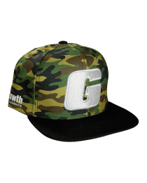 Suplemento Boné Camuflado com G branco - Growth Supplements