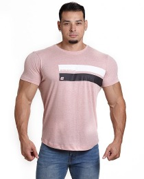 Suplemento Camiseta Dream Team 2 Listras Salmão - Growth Supplements