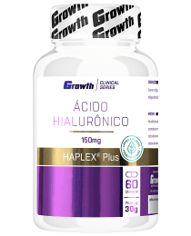 Suplemento ÁCIDO HIALURÔNICO 60 caps Veganas HAPLEX