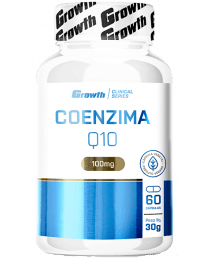 Suplemento Coenzima Q10 100mg - 60 cápsulas