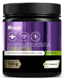 Suplemento Creatina (100g) (Creapure®) - Growth Supplements