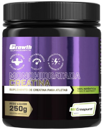 Suplemento Creatina (250g) (Creapure®) - Growth Supplements