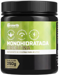 Suplemento Creatina Monohidratada 250gr - Growth Supplements