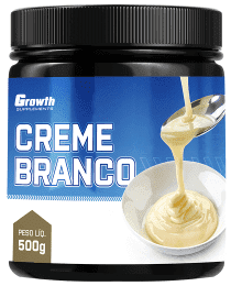 Suplemento CREME BRANCO 500GR - GROWTH SUPPLEMENTS