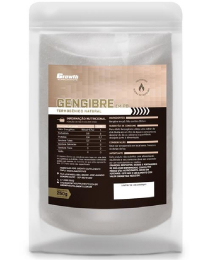 Suplemento Gengibre em po 250gr - Growth Supplements
