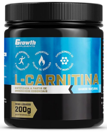 Suplemento L-Carnitina (200gr) - Growth Supplements