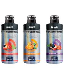 Suplemento L-Carnitina Líquida 2200 - 420 ML