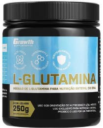 Suplemento L-Glutamina (250g) - Growth Supplements