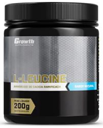 Suplemento L-Leucine (200gr) - Growth Supplements