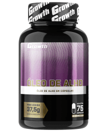 Suplemento Óleo de Alho (500mg) (75caps) - Growth Supplements
