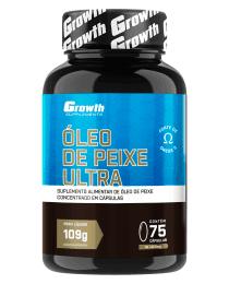 Suplemento Óleo de Peixe Ultra (75 softgel) - Growth Supplements