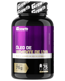 Suplemento Óleo de semente de Uva (75caps) - Growth Supplements