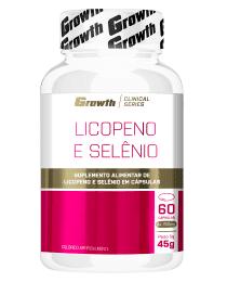 Suplemento Licopeno e Selênio 60 cápsulas - Growth Supplements