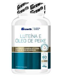 Suplemento Luteína e Óleo de peixe 60 cápsulas - Growth Supplements