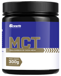 Suplemento MCT EM PÓ 300GR - GROWTH SUPPLEMENTS
