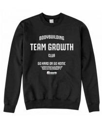 Suplemento MOLETOM PRETO TEAM GROWTH - GROWTH SUPPLEMENTS