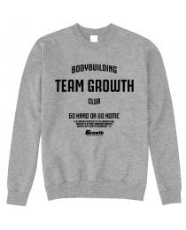 Suplemento MOLETOM TEAM GROWTH MESCLA TEAM GROWTH CLUB - GROWTH SUPPLEMENTS