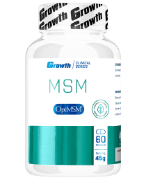Suplemento OptiMSM 60 capsulas vegetais