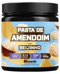 Suplemento Pasta de Amendoim Sabor Beijinho 500g - Growth Supplements
