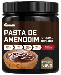 Suplemento Pasta de Amendoim sabor Brigadeiro 500gr - Growth Supplements