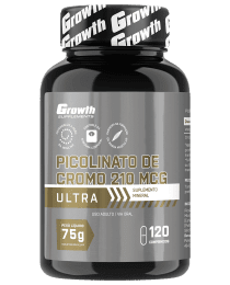 Suplemento Picolinato de Cromo ULTRA 120 COMP - Growth Supplements