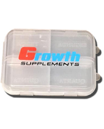 Suplemento Porta Comprimido Growth Supplements