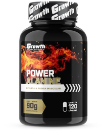 Suplemento Power Alanine (120 caps) - Growth Supplements