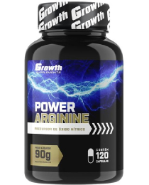 Suplemento Power Arginine (120caps) - Growth Supplements