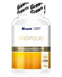 Suplemento Própolis 60 cápsulas - Growth Supplements