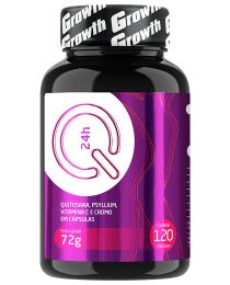 Suplemento QUITOSANA+PSYLLIUM+VIT.C+CROMO Q24 120 CAPS- GROWTH SUPPLEMENTS