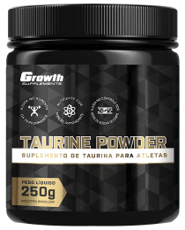 Suplemento TAURINA POWDER 250GR - GROWTH SUPPLEMENTS
