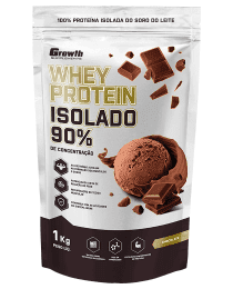 Suplemento (TOP) Whey Protein Isolado (1KG) - Growth Supplements