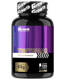 Suplemento Triptofano 120 caps - Growth Supplements