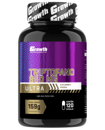 Suplemento Triptofano Ultra - 120 comp - Growth Supplements