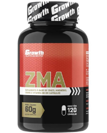 Suplemento ZMA (120 caps) - Growth Supplements
